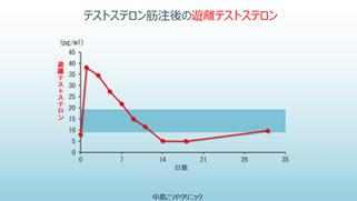 エナルモン注射後の血中濃度の変動